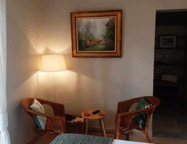 chambre d'hotes le beausset ambiance vegetale