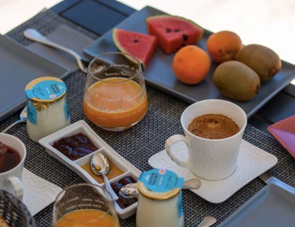petit dejeuner chambre d'hotes var provence
