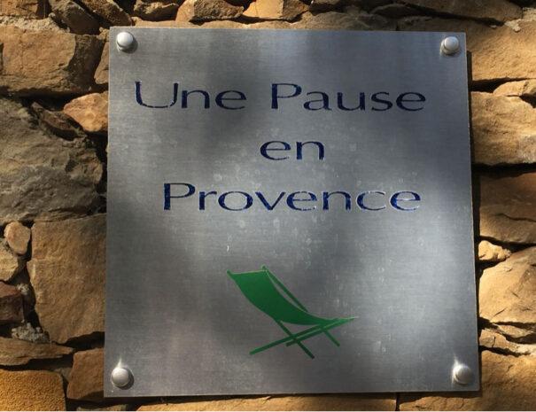 chambre d'hôtes en Provence Une Pause en Provence le beausset